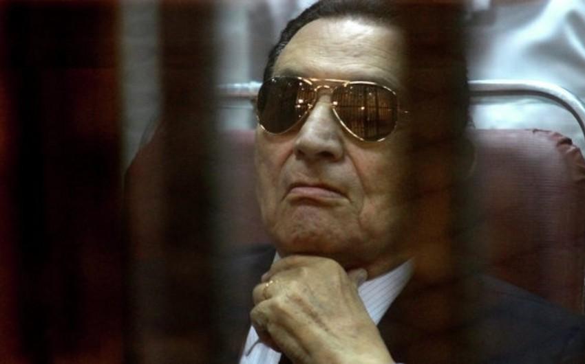 Misirin keçmiş prezidenti Hüsnü Mübarək azadlığa çıxıb