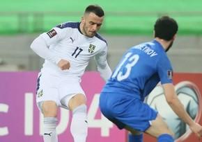 Serbiyalı futbolçu: Azərbaycanla oyuna mənən hazır idik