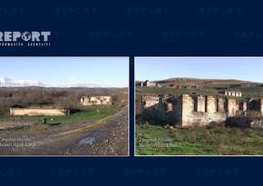 Footage from Birinji Aghali village of Zangilan region