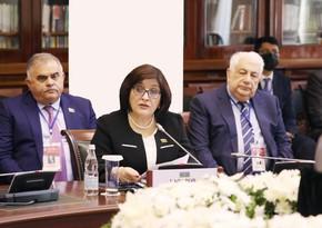 Sahibə Qafarova MDB PA-nın 52-ci plenar iclasında çıxış edib