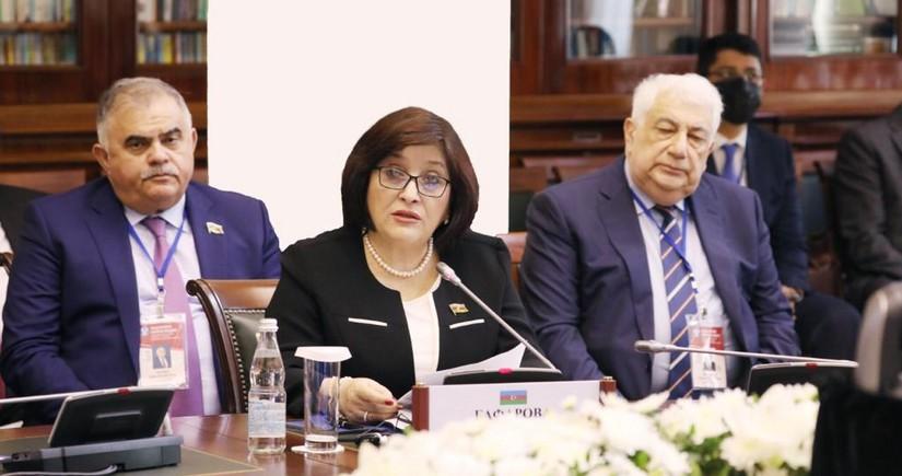 Сахиба Гафарова выступила на 52-м пленарном заседании МПА СНГ