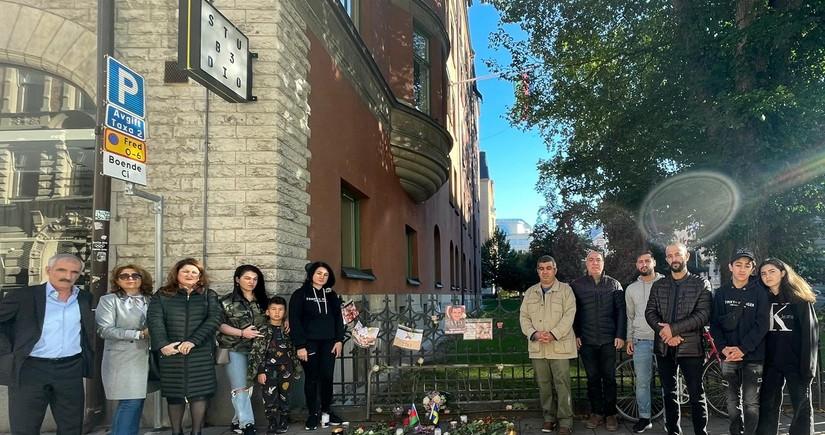 Azerbaijani martyrs commemorated in Sweden