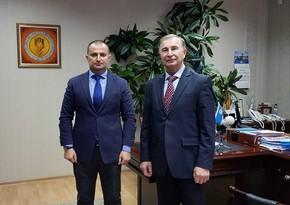 Ukrayna Həmkarlar Federasiyasının sədri Georgi Vasiliyeviç Osovoy