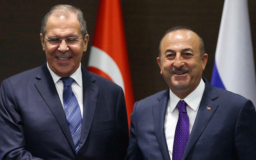 Türkiyə və Rusiyanın XİN başçıları Suriyadakı vəziyyəti müzakirə ediblər
