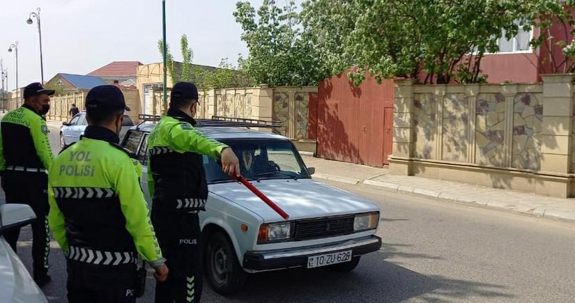 Cəlilabad və Biləsuvarda keçirilən reydlərdə 25 sürücü cərimələndi