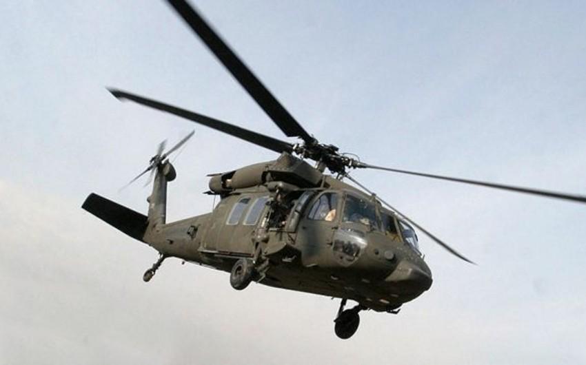İspaniyada helikopter qəzaya uğrayıb, pilot həyatını itirib