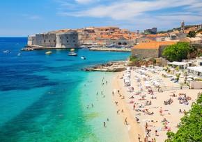 Xorvatiya 600 min turist qəbul edəcək