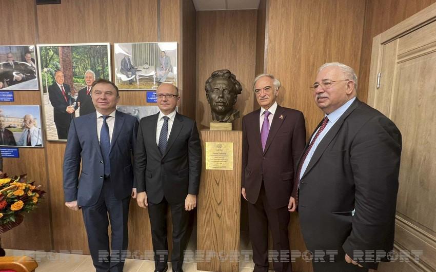Moskvada Fərman Salmanovun büstünün və auditoriyasının açılışı olub