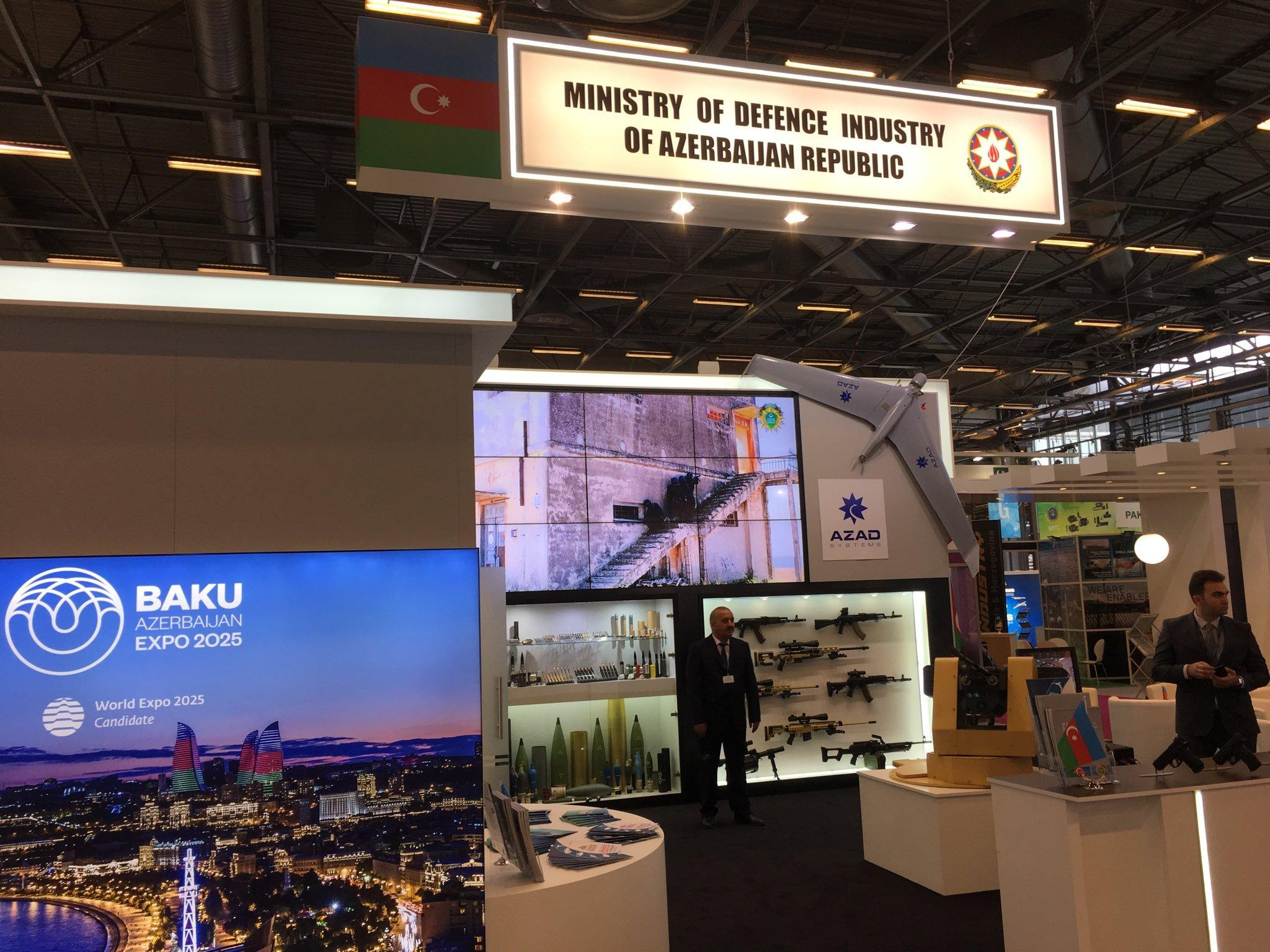 Azerbaijan participates in Eurosatory 2018 military exhibition in Paris
