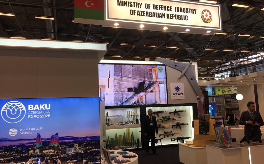 Azərbaycan Parisdə keçirilən Eurosatory 2018 hərbi sərgisində iştirak edir