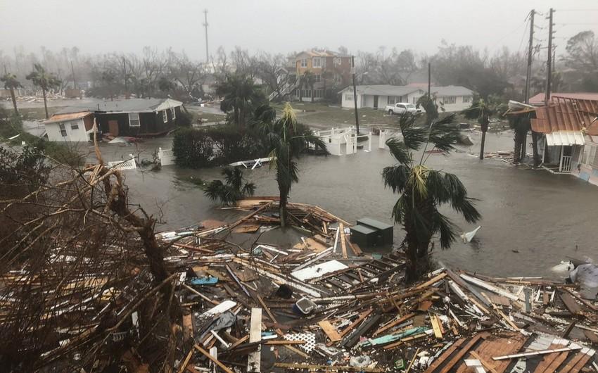 Ураган Майкл обрушился на побережье США