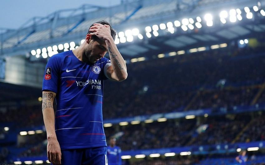 Фабрегас не сдержал слёз в последнем матче за Челси - ВИДЕО