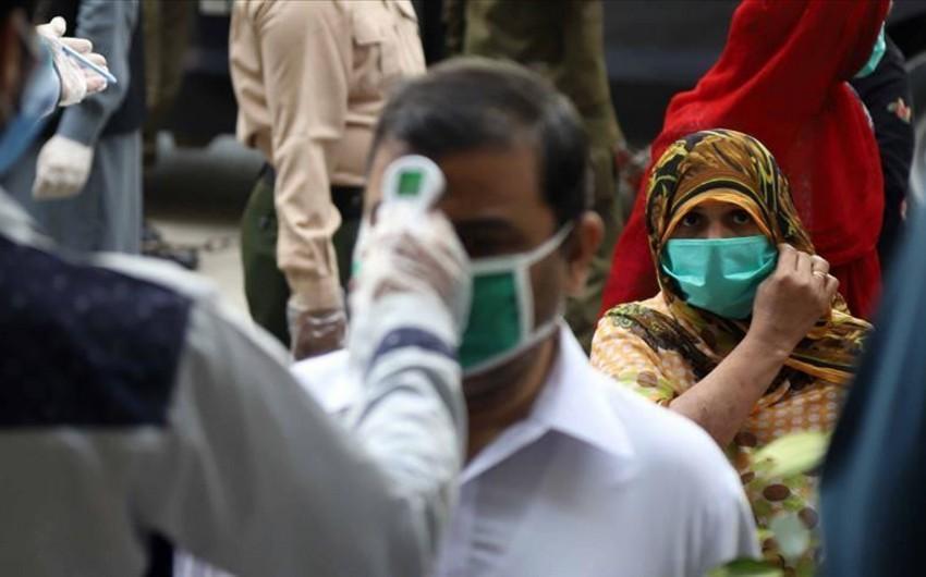 Pakistanda koronavirus sürətlə yayılır