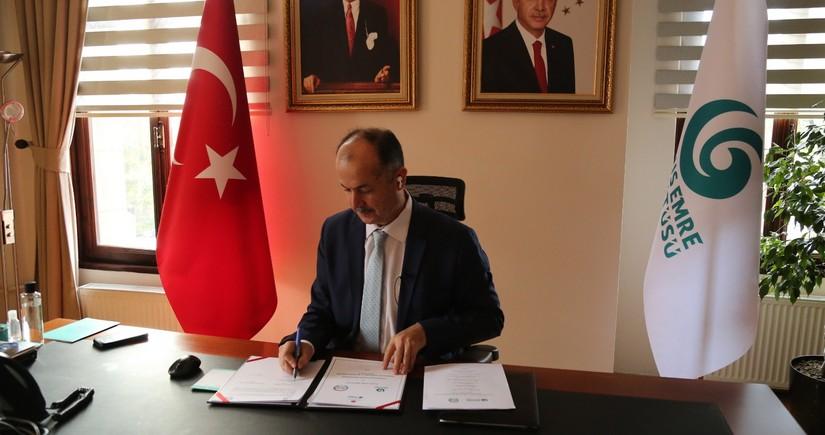 AzTU ilə Yunus Emre İnstitutu arasında əməkdaşlıq protokolu imzalanıb