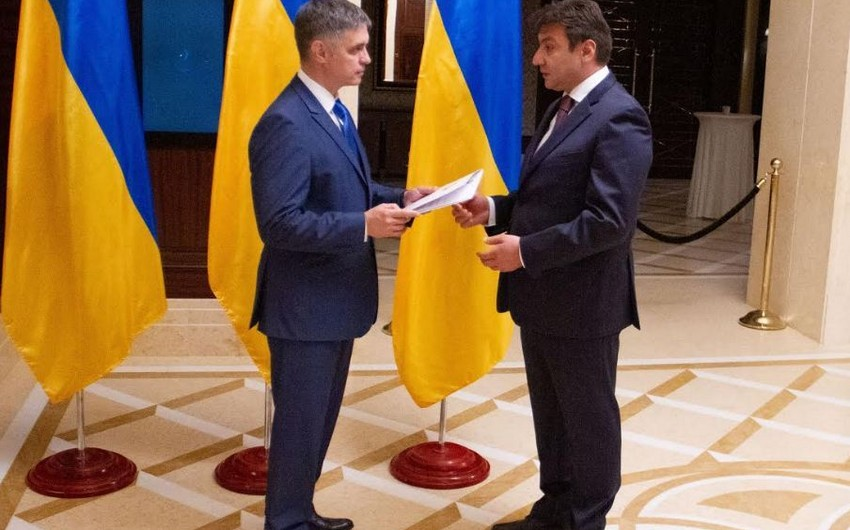 Azərbaycan səfiri Ukraynanın yeni xarici işlər naziri ilə görüşüb