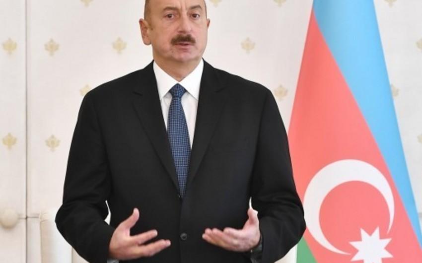 İlham Əliyev: 2018-ci il Azərbaycan üçün uğurlu il olmuşdur