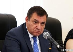 Ermənistan Ali məhkəməsinin sədri Moskvadadır