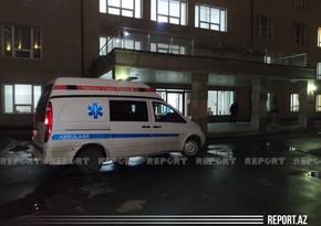 Цепная авария в Баку, пострадал подросток