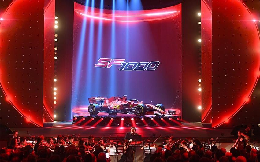 """""""Ferrari"""" yeni avtomobilini təqdim etdi - FOTOLAR"""