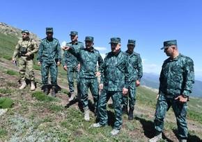 Prezidentin köməkçisi və DSX rəisi Ermənistanla sərhədə gedib