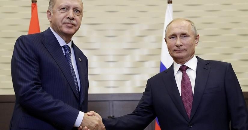 Türkiyə və Rusiya prezidentləri arasında telefon danışığı olub