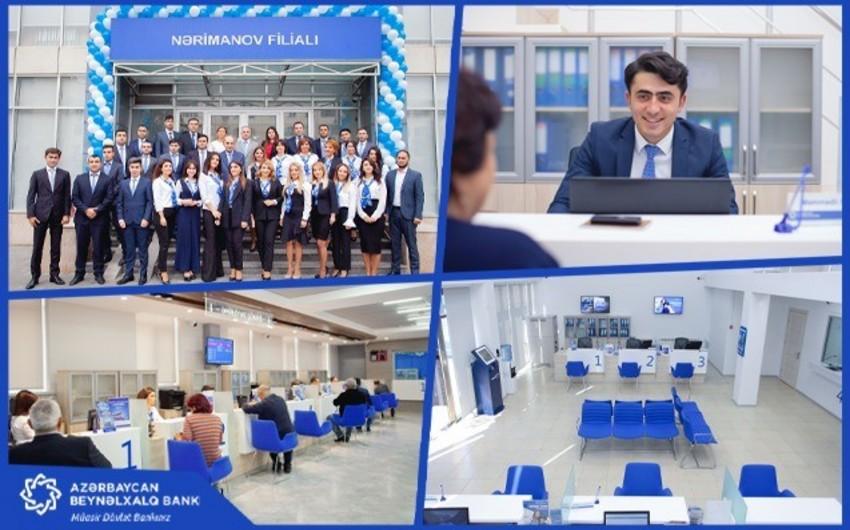 Azərbaycan Beynəlxalq Bankı Nərimanov filialını və Qax şöbəsini yenidən qurub