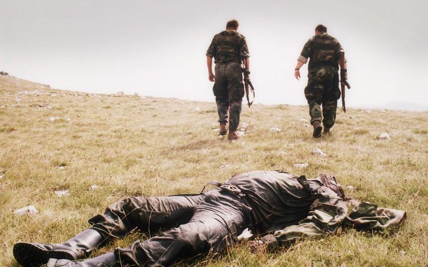 MN: Ermənistan ordusunun daha bir zabiti məhv edilib