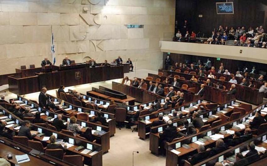 Qondarma erməni soyqırımı ilə bağlı məsələ İsrail parlamentinin gündəliyindən çıxarılıb