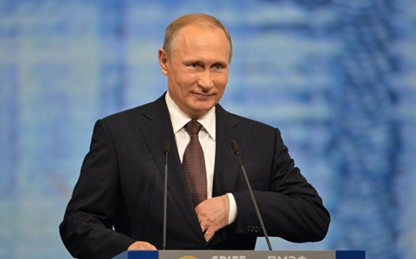Putin: Rusiya strateji silahların müasirləşdirilməsi istiqamətində uğur əldə edib