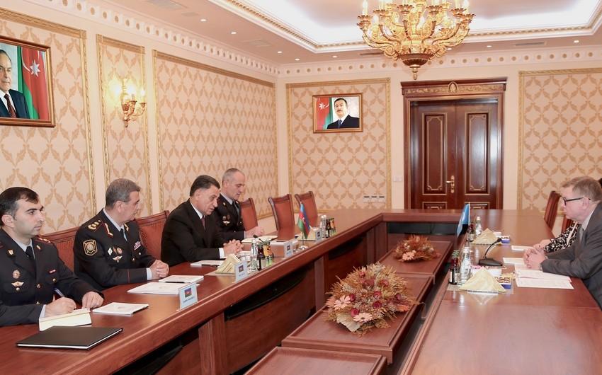Ramil Usubov BMT Baş katibinin köməkçisi ilə görüşüb