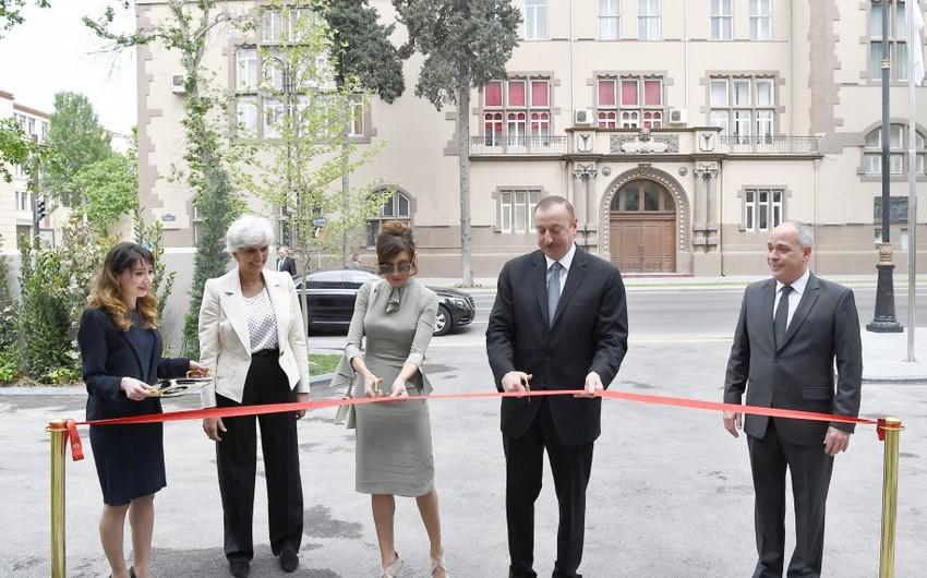 Prezident İlham Əliyev Bakıda Dinamo otelinin açılışında iştirak edib - YENİLƏNİB