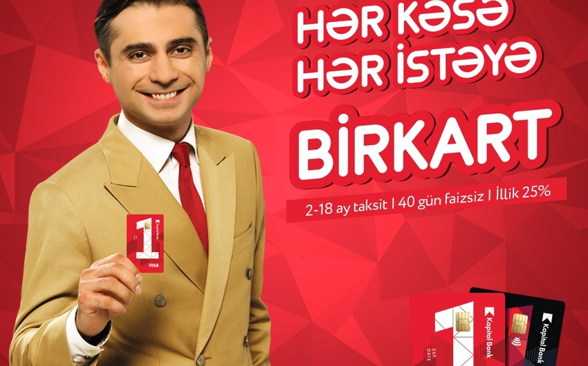 """Hər kəsə, hər istəyə """"BirKart!"""""""