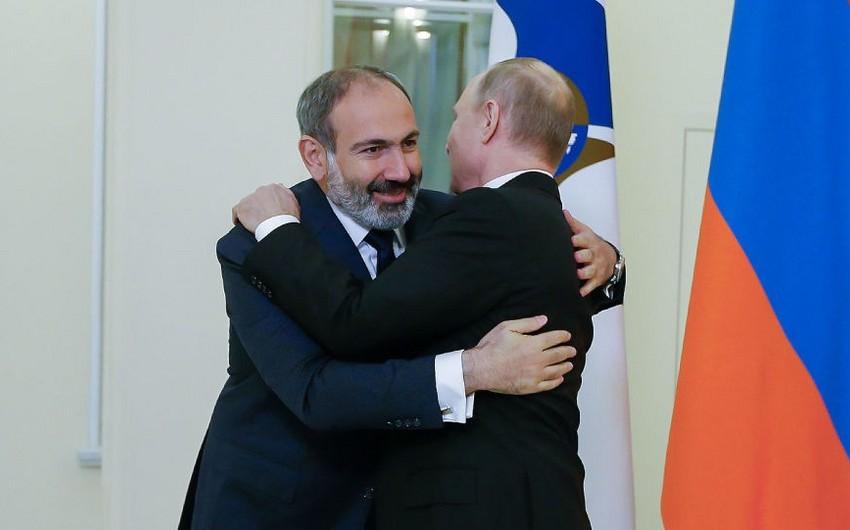 Vladimir Putinlə Nikol Paşinyan arasında görüş keçirilib
