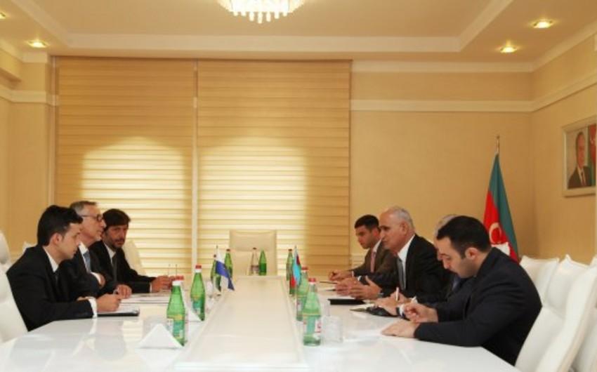 Azərbaycanla San-Marino arasında iqtisadi əməkdaşlıq imkanları müzakirə olunub