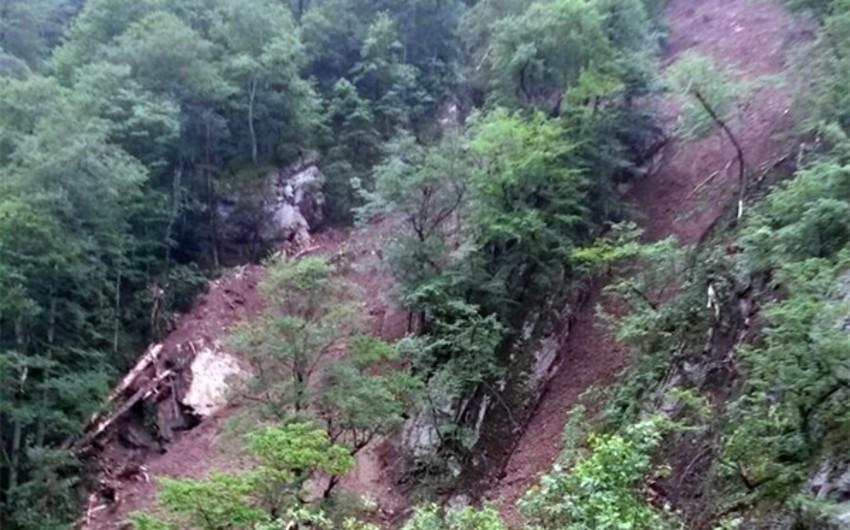 Şahdağ Milli Parkının ərazisində uçqun baş verib
