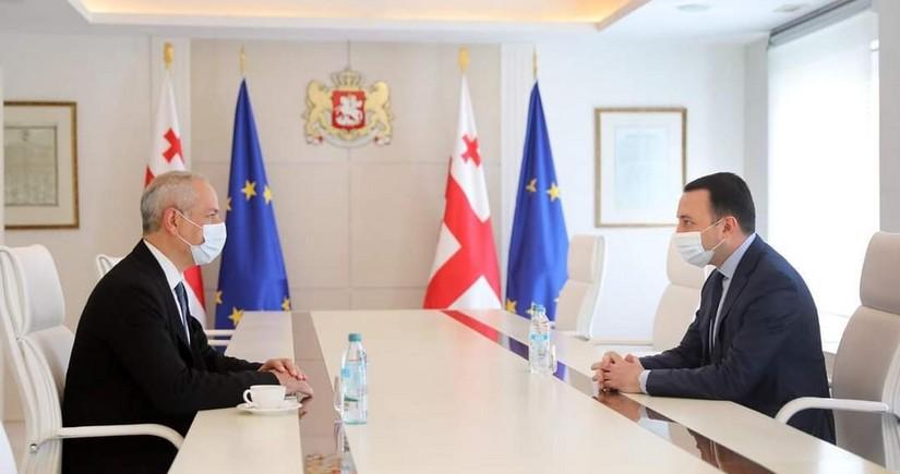 Gürcüstan baş nazirinə yeni müşavir təyin olunub