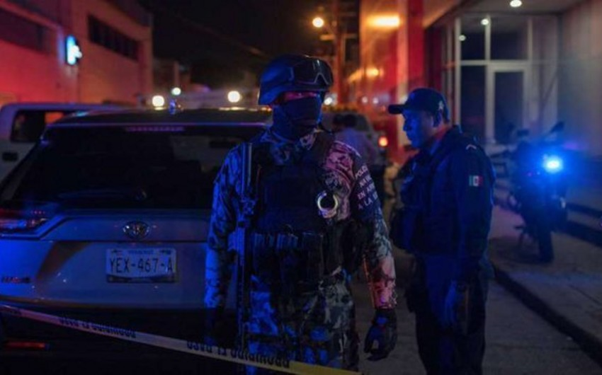 Meksikada bara hücum nəticəsində ölənlərin sayı artıb, yaralılar var - FOTO  - YENİLƏNİB-2