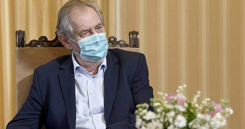 Çex Respublikasının Prezidenti xəstəxanadan buraxılıb
