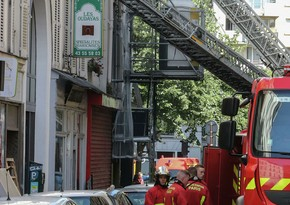 Fire erupts near French PM's residence in Paris