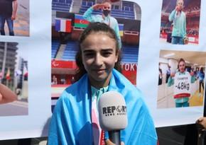 Paralimpiya çempionu: Növbəti hədəfimParisdə qızıl medal qazanmaqdır