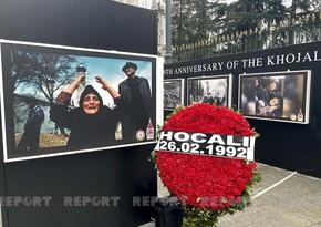 İstanbulda Xocalı soyqırımının 29-cu ildönümünə həsr olunan fotosərgi açılıb