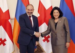 Президент Грузии обсудила с премьер-министром Армении региональные вопросы