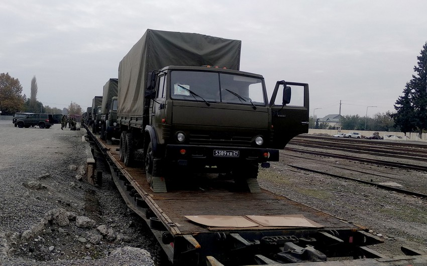 Rusiya sülhməramlılarının təminatı ilə bağlı fəaliyyətlər həyata keçirilir