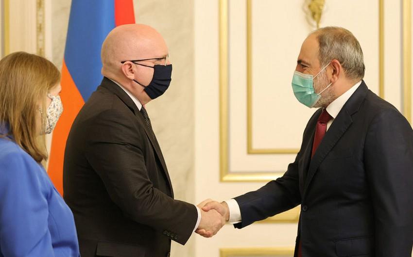 Philip Reeker discusses Karabakh issue in Yerevan