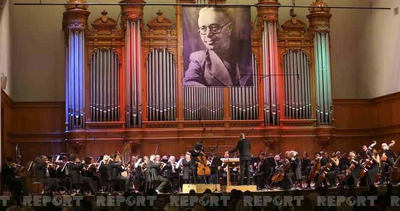 Moskvada Bakı Musiqi Akademiyasının 100 illiyinə həsr olunmuş konsert keçirilib