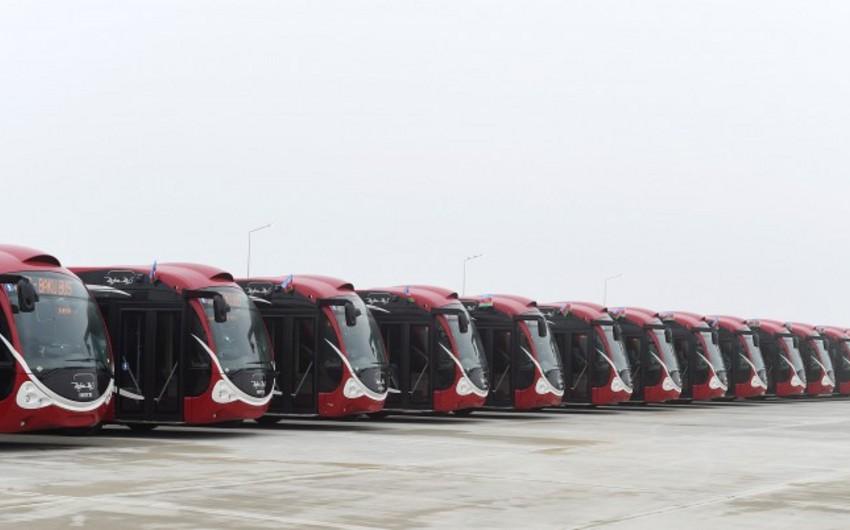 Bakı şəhəri üçün daha 300 iri tutumlu sərnişindaşıyan avtobus alınacaq