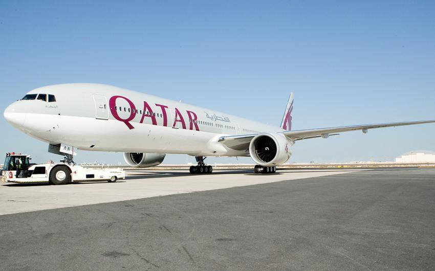 Qatar Airwaysin təyyarəsi burulğana düşüb, 40 nəfər yaralanıb