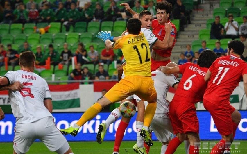ЕВРО-2020: почему арбитры не засчитали гол сборной Азербайджана в ворота команды Венгрии