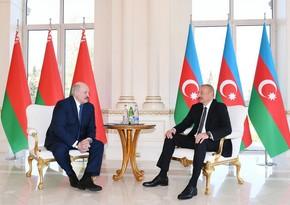 Azərbaycan Prezidenti: Bizim münasibətlərimiz artıq zamanın sınağından çıxıb