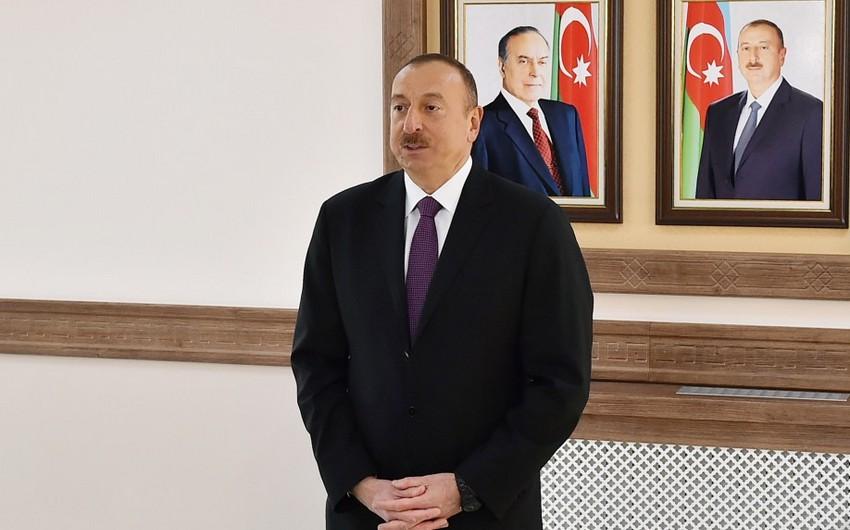 İlham Əliyev: Naxçıvanın hərbi potensialı ən yüksək səviyyədədir
